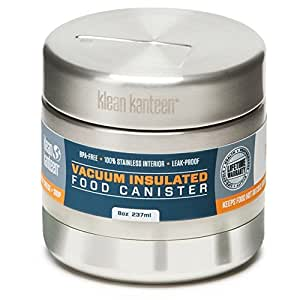 Klean Kanteen Insulated Canister - 8oz. - Stainless Steel