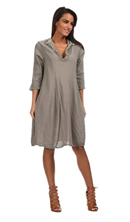 99b2ad4b91dd Privatsachen - Dress ZUHAUSEN - Woman - T2 - Grey  Amazon.co.uk  Clothing