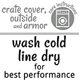 Armor-Waterproof Dog Bed Liner, Huge