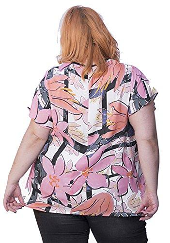 Susana Rosa Escribano Blusa Para 50 pink Mujer qAqHIpnwr