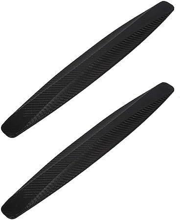 Oferta amazon: Paquete de 2, WeFoonLo Universal Rubber Anticollision Car Corner Bumper Guard protector anti-Scratch tiras pegatina