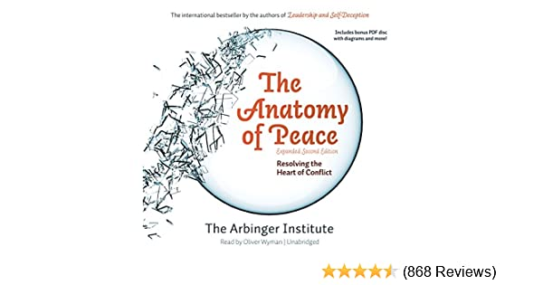 Amazon The Anatomy Of Peace Expanded Second Edition Resolving