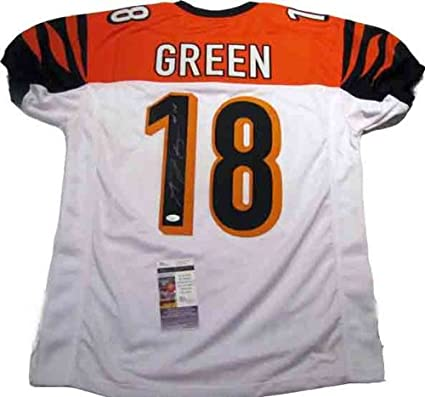 AJ Green Autographed Signed Cincinnati White Jersey at Amazon's ...