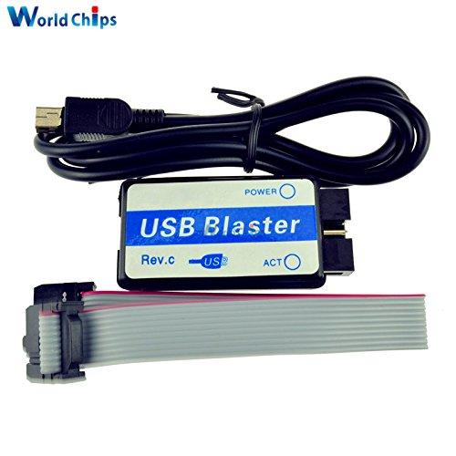 1 Set Altera Mini Usb Blaster Cable For CPLD FPGA NIOS JTAG Altera Programmer Support All ATLERA Deveice 100% Origin 1.0V-5.5V