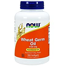 Wheat Germ Oil by NOW - 100 softgels