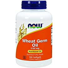 NOW Wheat Germ Oil,100 Softgels