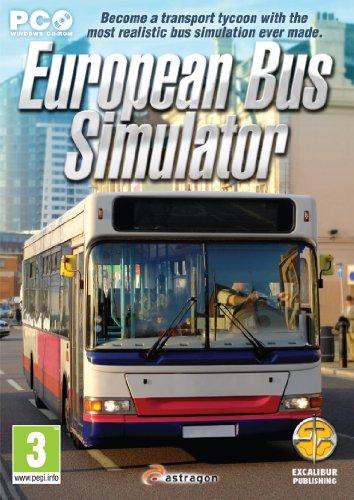(European Bus Simulator for PC CD-ROM)