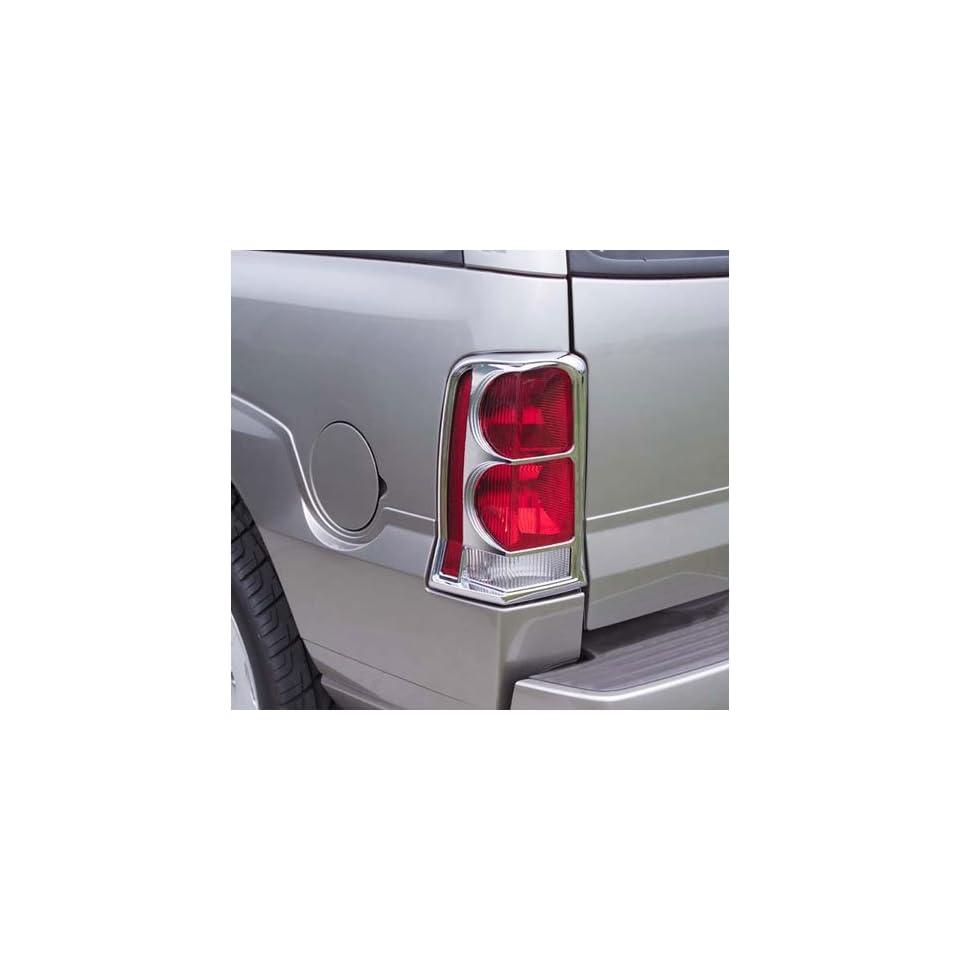 Putco Chrome Tail Lamp Covers, for the 2006 Cadillac Escalade ESV