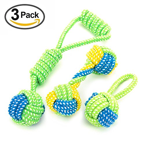 Vizpet-Rope-Chew-Toys-Puppy-Chew-Teething-Rope-Toy-Dog-Toys-Gift-Pets-Puppy-Dog-Pet-Rope-Toys-For-Small-and-Medium-Dogs-3-Pack
