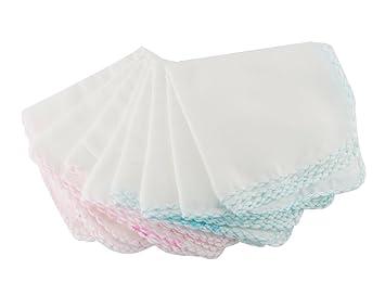 BONAMART ® 10 X baño toalla baños baberos alimentación limpiar paño Toallita algodón Para Bebé 30x30cm: Amazon.es: Juguetes y juegos