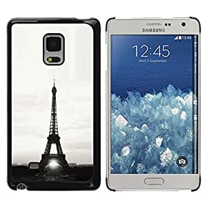 Impact Case Cover with Art Pattern Designs FOR Samsung Galaxy Mega 5.8 Architecture Eiffel Tower Sun B&W Betty shop