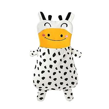 Saco De Dormir De Algodón De Dibujos Animados para Bebés, Forma De Vaca, Dibujos Animados Lindo, Cálido Y Cómodo: Amazon.es: Deportes y aire libre