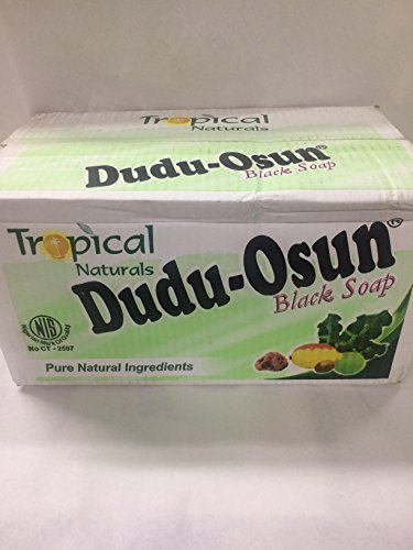 Dudu Osun African Black Soap, 48 Bars (Dudu Osun Black Soap Before And After)