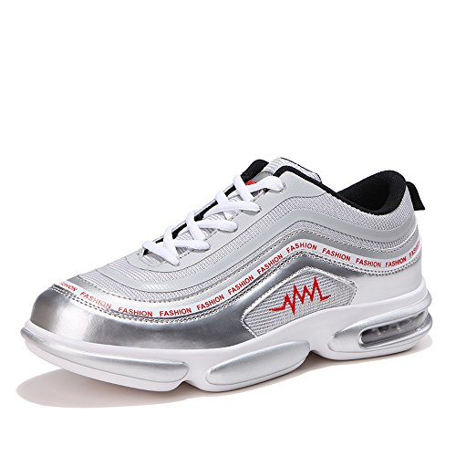 Lace Scarpe Cricket Scarpe Sneaker Energy Silver Uomo da da Up da Breathable Ginnastica Afterburn rqqfg70w4v