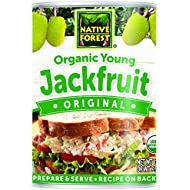 Native Forest Organic Jackfruit, Vegan Meatless Alternative, 14 Ounce Cans (Pack of 6)
