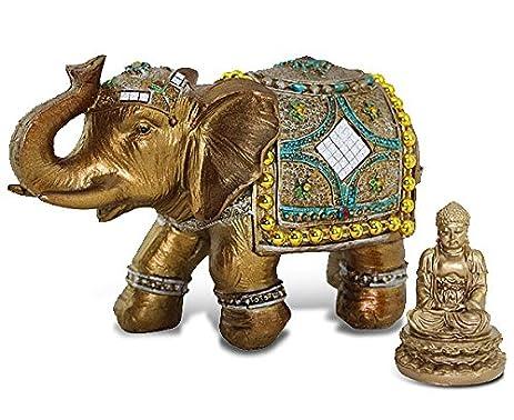 Wonderful Elephant Statues Good Luck Facing Door Condointeriordesign