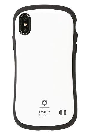 cf3dd57da6 Amazon | iFace First Class Standard iPhone XS/X ケース [ホワイト ...