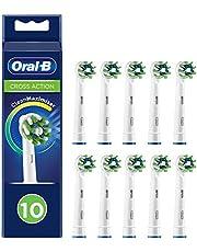 Oral-B CrossAction Opzetborstels Met CleanMaximiser-technologie, Verpakking Van 10 Stuks