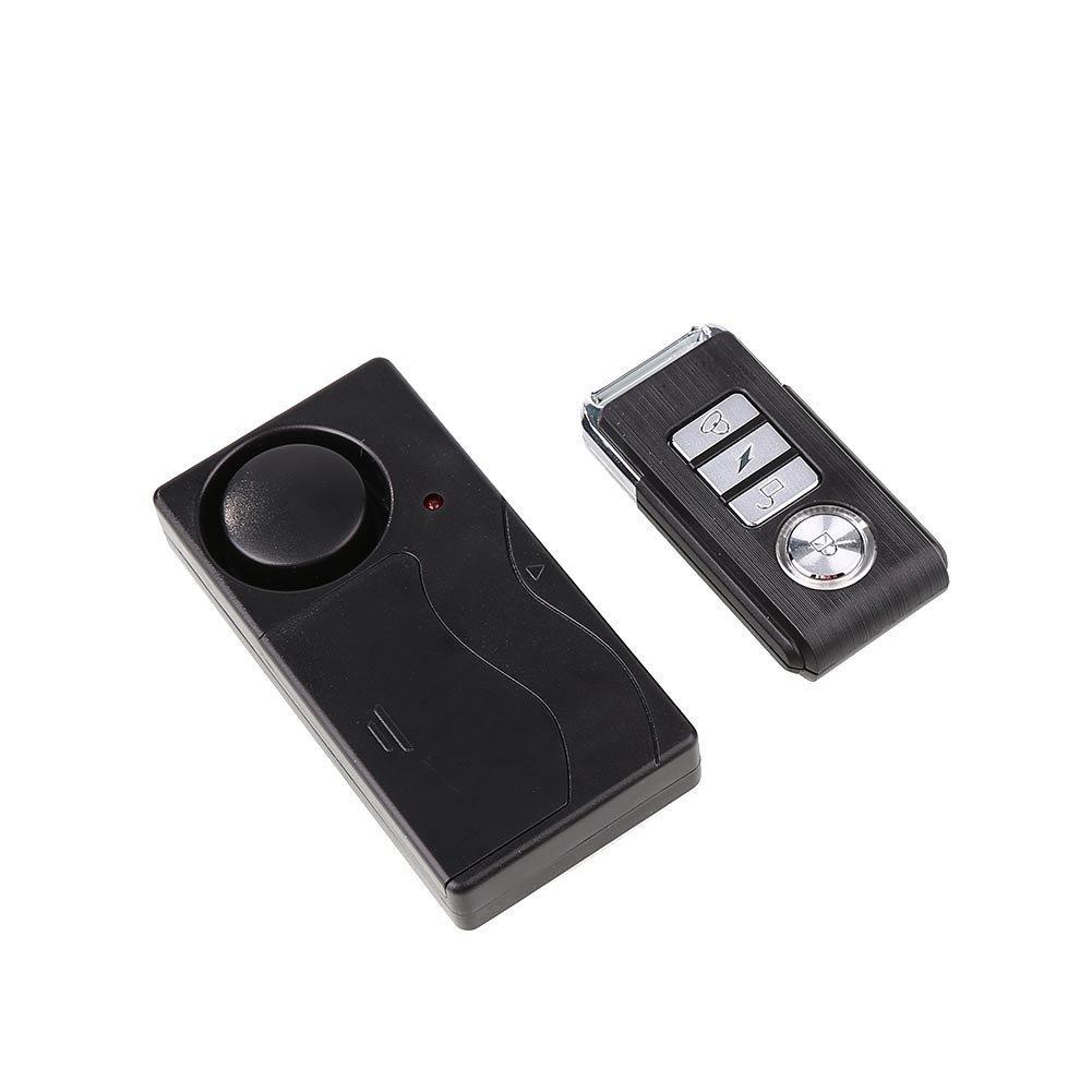 Giantree Alarmas de seguridad de control remoto antirrobo inalá mbrico Seguridad de bricolaje Sistema de alarma de seguridad Sensor magné tico con control remoto