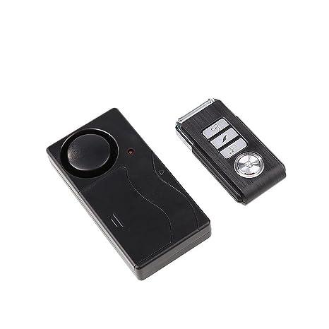 Giantree Alarmas de Seguridad de Control Remoto antirrobo inalámbrico Seguridad de Bricolaje Sistema de Alarma de Seguridad Sensor magnético con ...