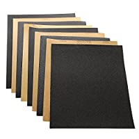 Huayao 34 Pieces 60 to 2000 Grit Wet dry Sandpaper Assortment 9 x11 inch