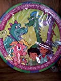 Dragon Tales Birthday Party Paper Lunch Plates 8 Count