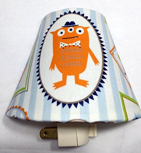 Monsters Plug In Night Light / Nursery Decor / Baby Shower Gift / Home Decor / Kid's Room / Storybook / Characters / Lighting / Hallway Light