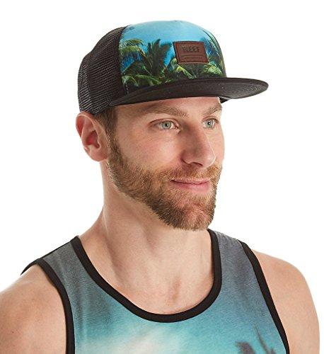 Reef Men's Trucker Hat, Tour Black, OS]()