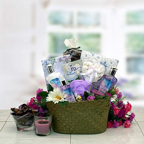 The Healing Spa Gift Basket for Women