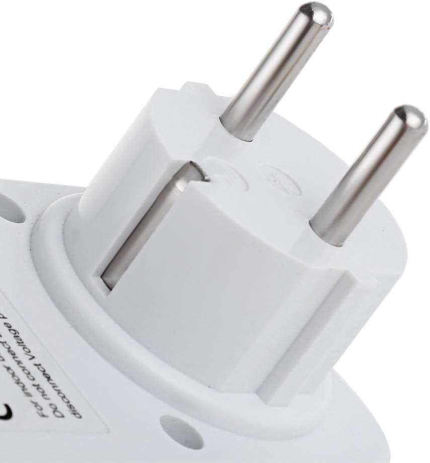 Prise Eu Nrpfell Eu Plug Plug-In Num/éRique Wattm/èTre Lcd Moniteur D/éNergie Compteur de Puissance /éLectricit/é Electrique Swr M/èTre Surveillance de LUtilisation Du Compteur