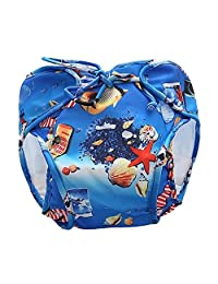 [Shell] Reuseable Baby Swim Diaper Lovely Infant Swim Nappy Swimwear