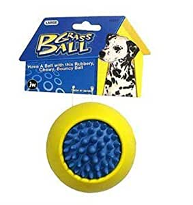 Pet Supplies : JW Pet Company Grass Ball Dog Toy, Large