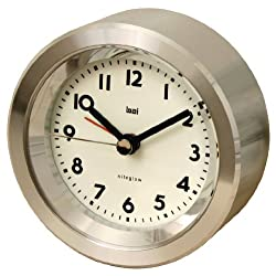 BAI Astor Aluminum Travel Alarm Clock, Landmark