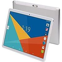 Tableta Android Octa Core CPU de 10 Pulgadas, 4 GB de RAM, 64 GB de Memoria Interna, WiFi, cámara, GPS, Dual SIM, sin Bloqueo de Red, teléfono para Tablet 3G, Color Negro Plata