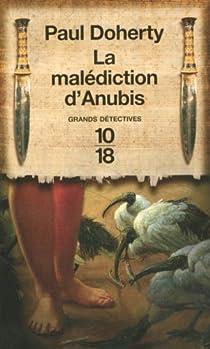 Book's Cover ofLes enquêtes du Juge Amerokte tome 3 : La malédiction d'Anubis