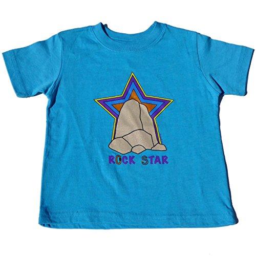 ZippyRooz Boys Toddler & Little Kids Rock Climbing Tee Shirt Rock Star (2T)