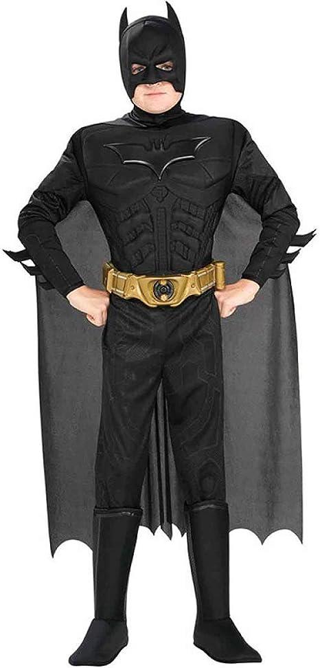 YXIAOL Dark Knight Batman, Disfraz De Superhéroe, Película Cosplay ...