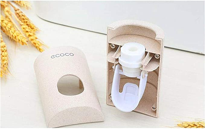 Set di dosatori per dentifricio con Montaggio a Parete doccetta e lavandino per Bambini Ruichicoo
