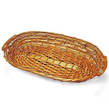 Amazon com: Clion Willow Basket Tray Christmas   Quantity: 6   Width