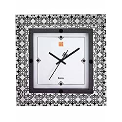 Frank Lloyd Wright Wall Clock Deco Wall Clock by Bulova - C3337