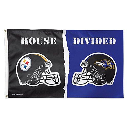 Wincraft NFL Pittsburgh Steelers vs. Baltimore Ravens Hou...