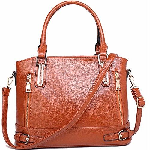 Women Handbags Fashion Handbags for Women PU Leather Shoulder Bags Messenger Tote Bags by Lanbeautiful
