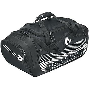 Amazon Com Demarini Bullpen Duffle Bag Black Sports
