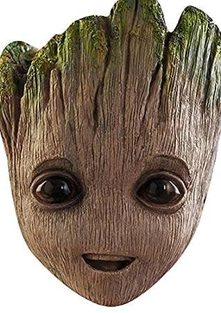 Máscara facial de Baby Groot, disfraz de famosos para fiestas