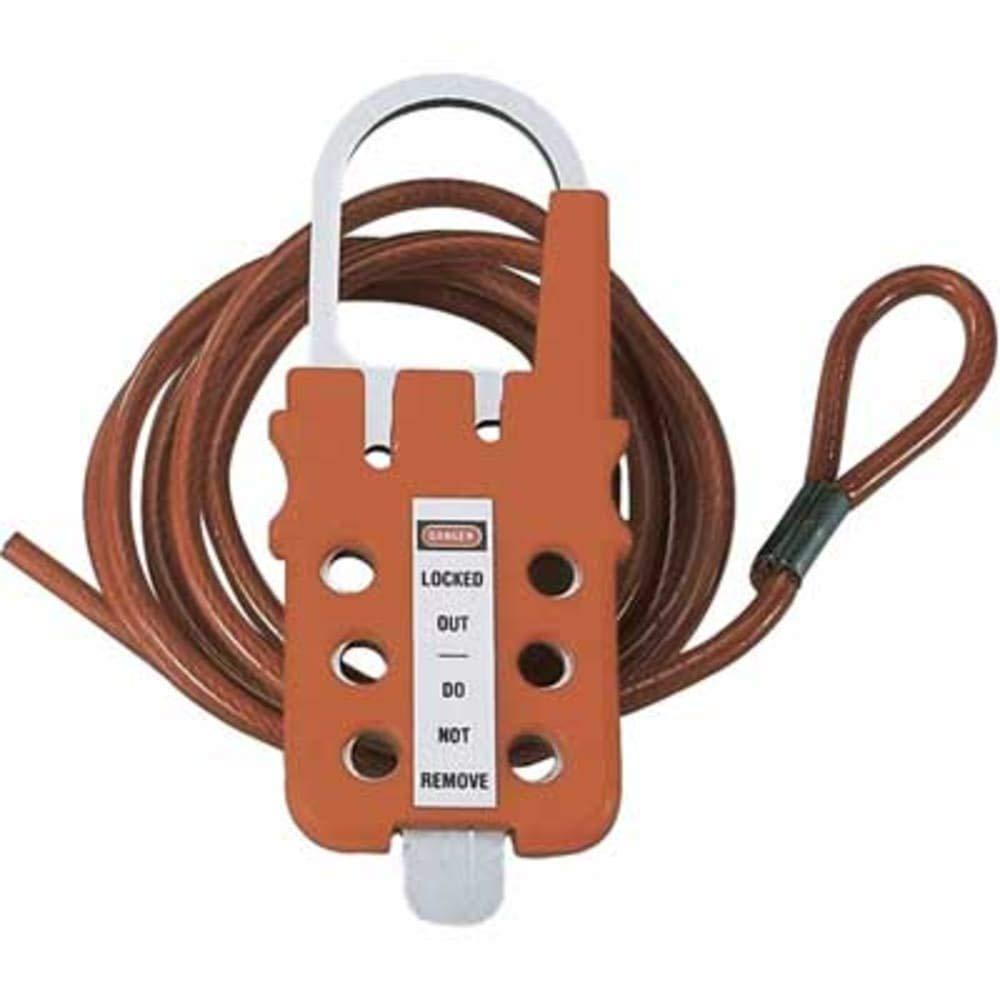 6 Lock; 4.8mm Shackle Polycarbonate Multiple Lockout