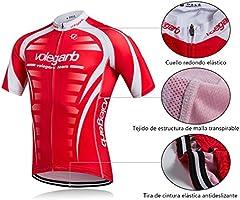 Feilaxleer Ropa Ciclismo Verano para Hombre y Mujer - Un Conjunto ...