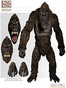 Figura King Kong 46 cm. Kong: La Isla Calavera. Mezco Toyz: Amazon.es: Juguetes y juegos
