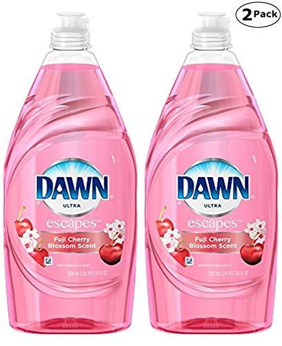 Dawn 689358576605 Ultra Escapes Fuji Cherry Blossom Dishwashing Liquid, 21.6 Pack of 2, Total 43.2 Fl. Oz