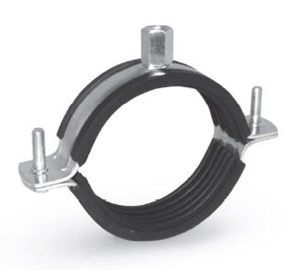 Rohrschelle mit Gummieinlage fü r schwere Rohre Klemmschelle Clamps Schlauchschelle Schellen (1, 16-20 mm) irsa24