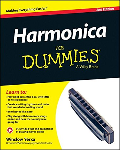Harmonica For Dummies, Book and Online Video and Audio Instruction
